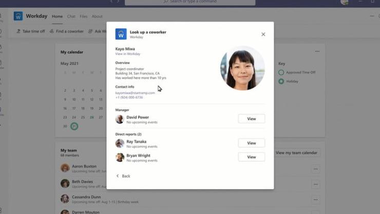Microsoft Outlook Teams Adaptive Card