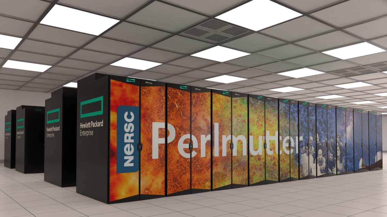 Perlmutter Supercomputer AI