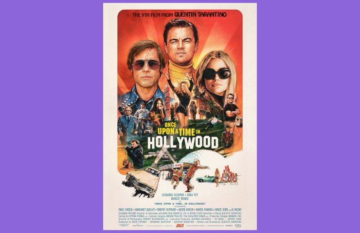 Tarantino, il manifesto di C'era una volta a Hollywood