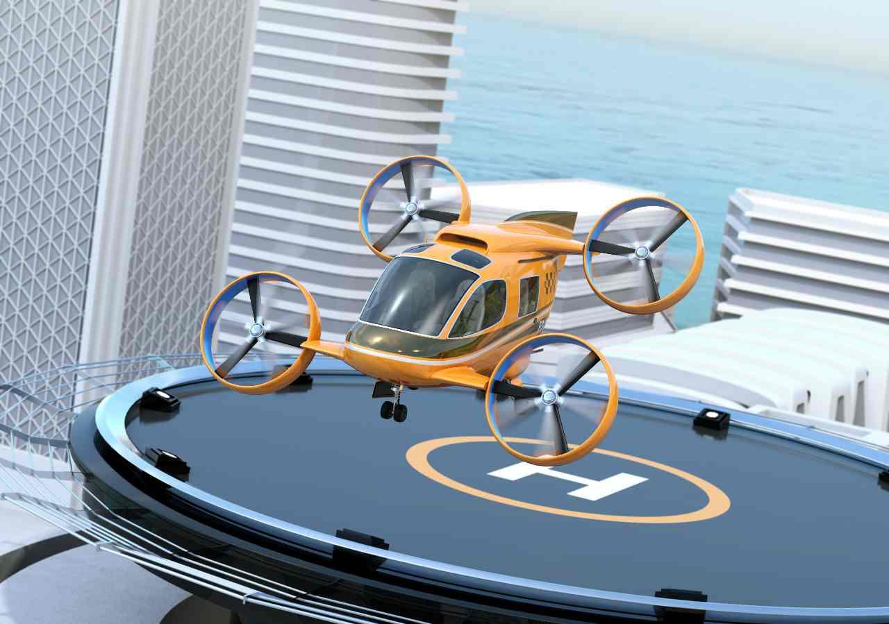 Taxi volante (Adobe Stock)