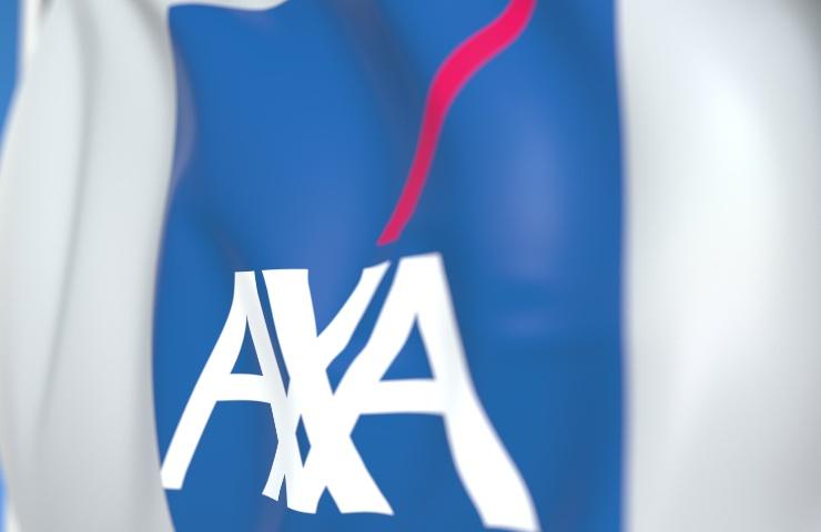 axa ransomware Il logo della compagnia assicurativa