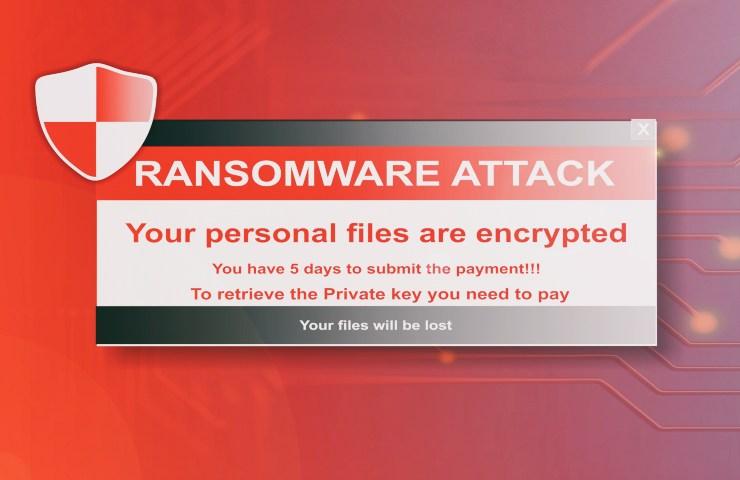 axa ransomware PC infetto I
