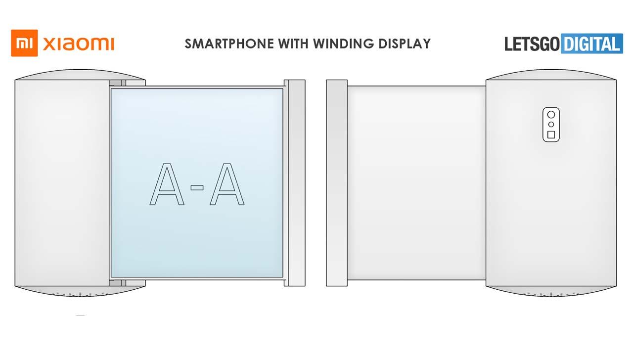 smartphone srotolabile Xiaomi