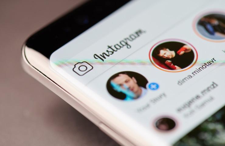 Instagram condivisione post desktop