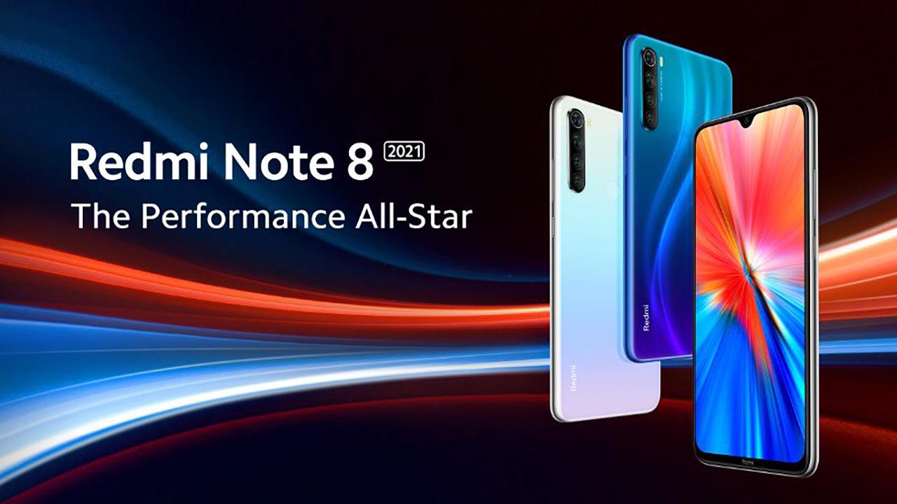 Redmi Note 8 2021 smartphone economico Xiaomi