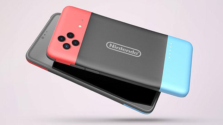 smartphone Nintendo