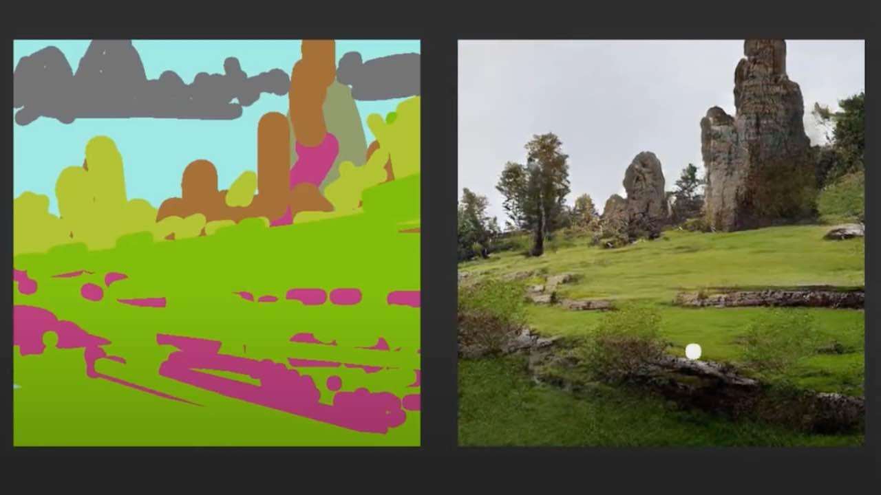 paesaggi disegno app