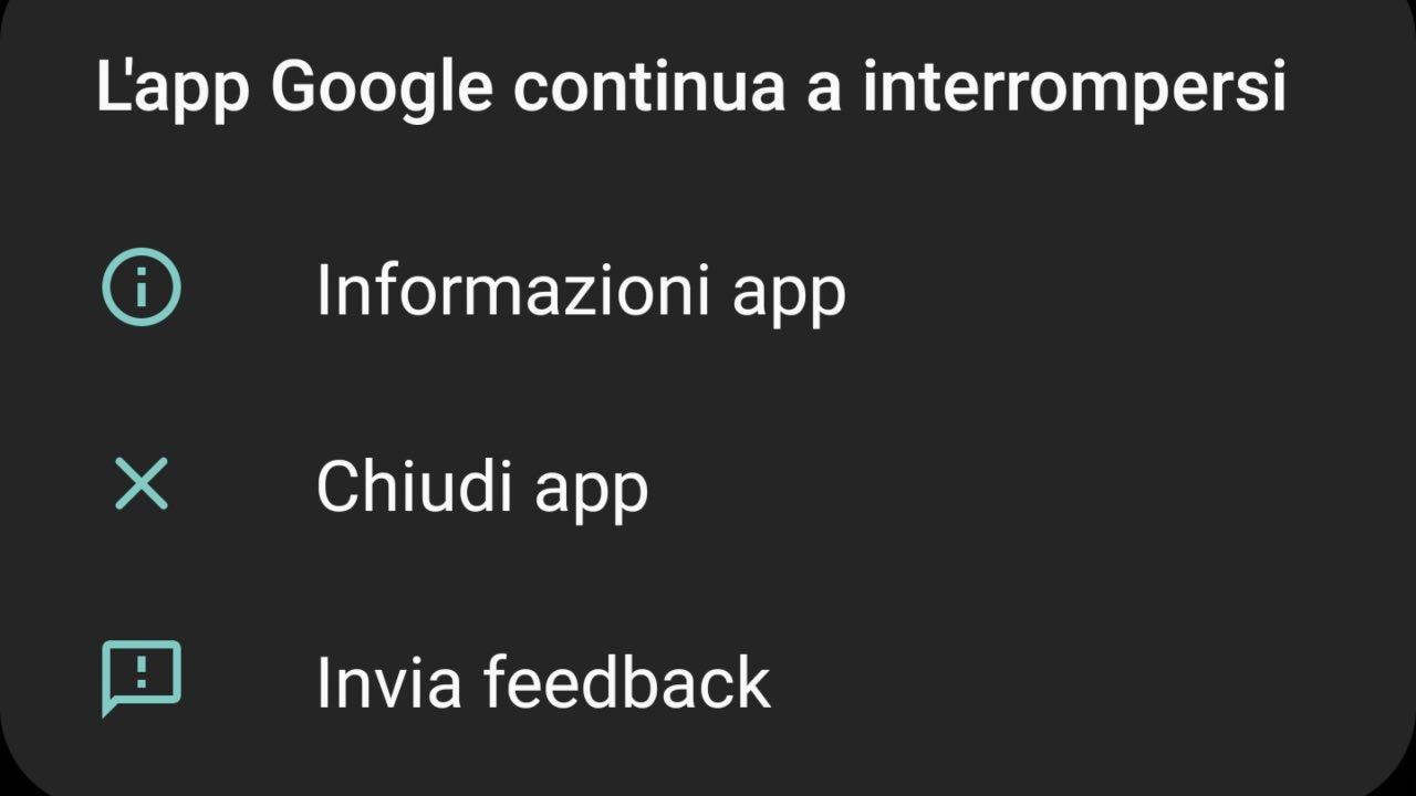 app google crash