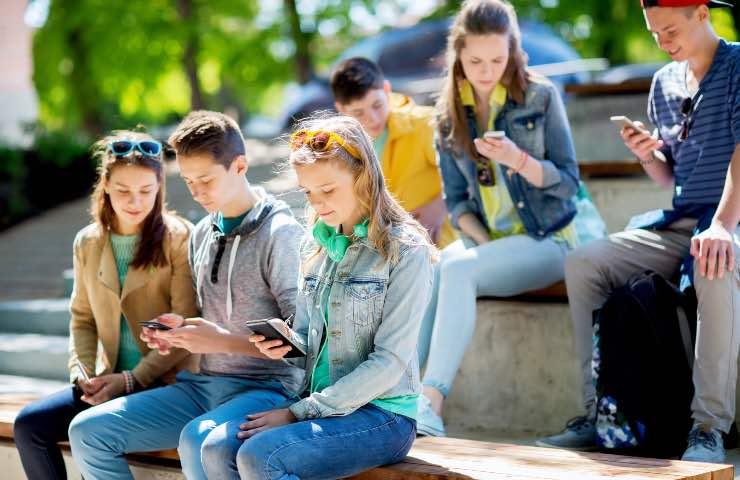 social network giovani