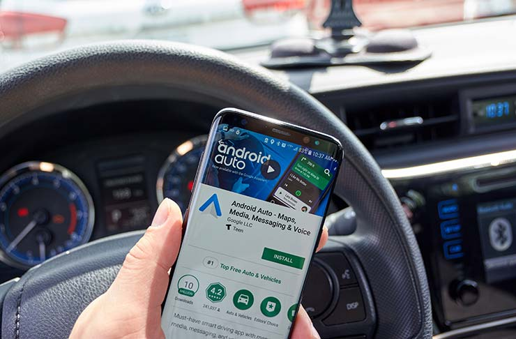 Android Auto bug Samsung