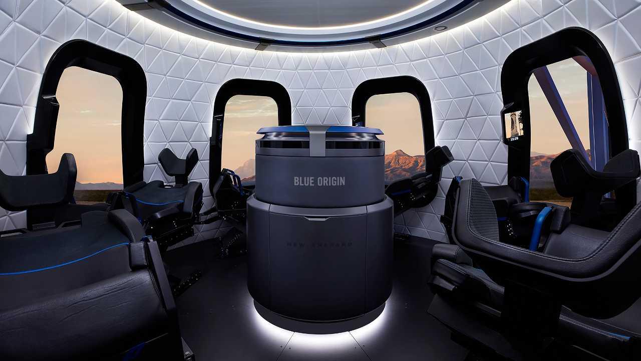 Blue Origin asta
