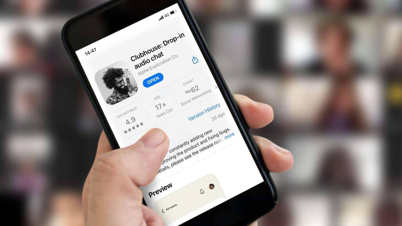 Clubhouse Android aggiornamento