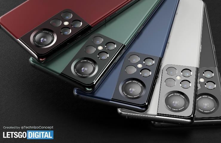 Samsung Galaxy S22 (LetsGoDigital)