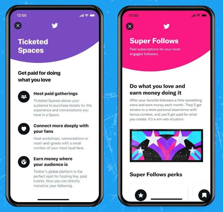 Twitter Super Follow Monetizzazione