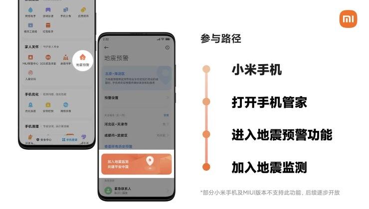 Xiaomi terremoti