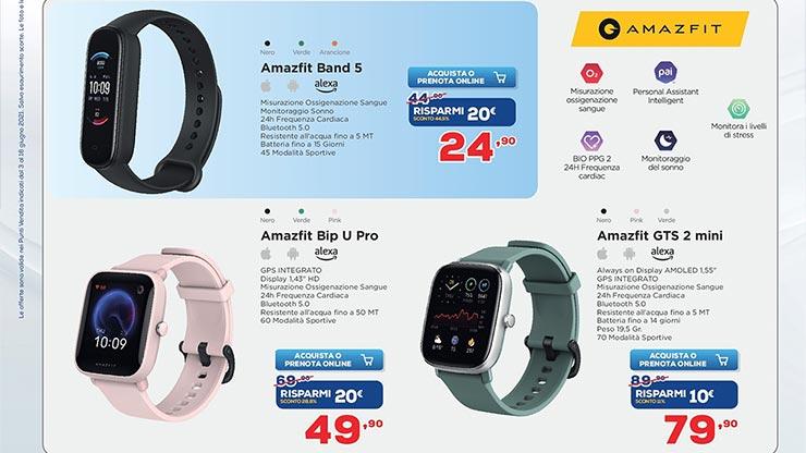 volantino euronics offerte smartwatch