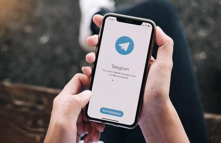 Telegram condivisione schermo