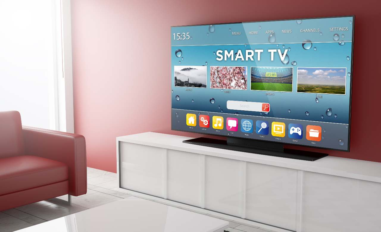 Smart TV, uno dei super premi del concorso tifa e vinci (Adobe Stock)