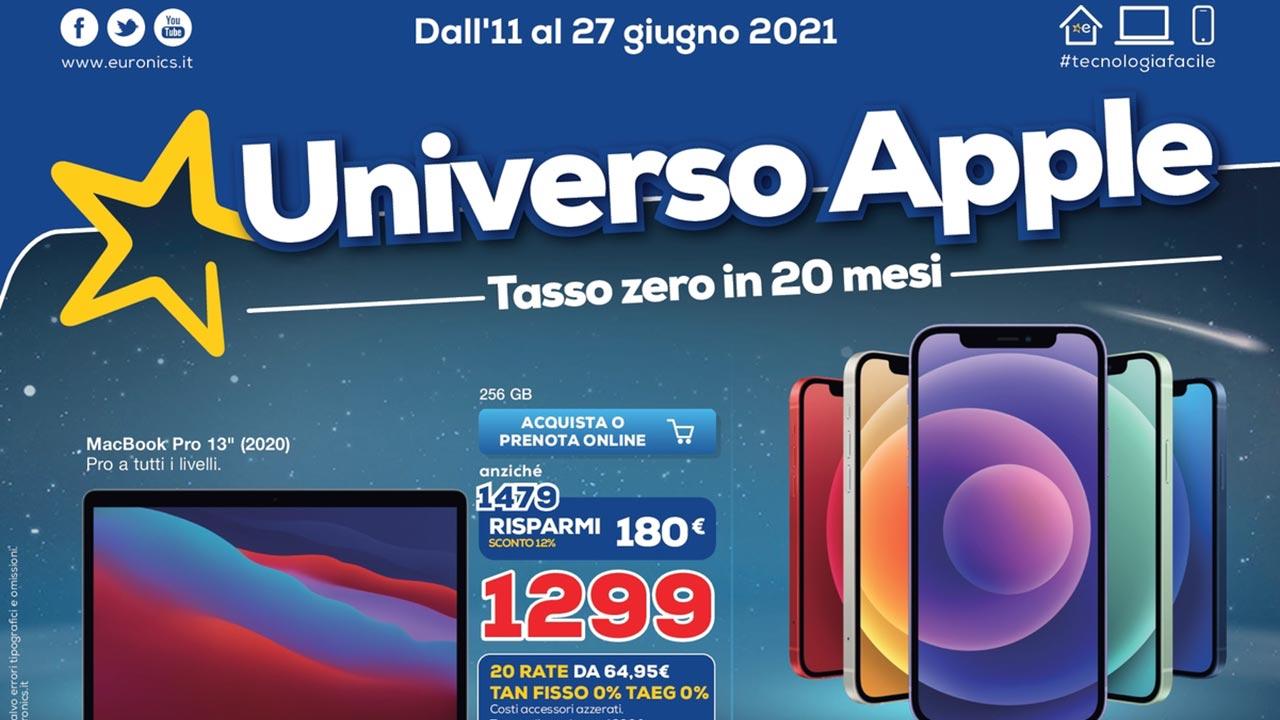 volantino Euronics offerte iPhone 12