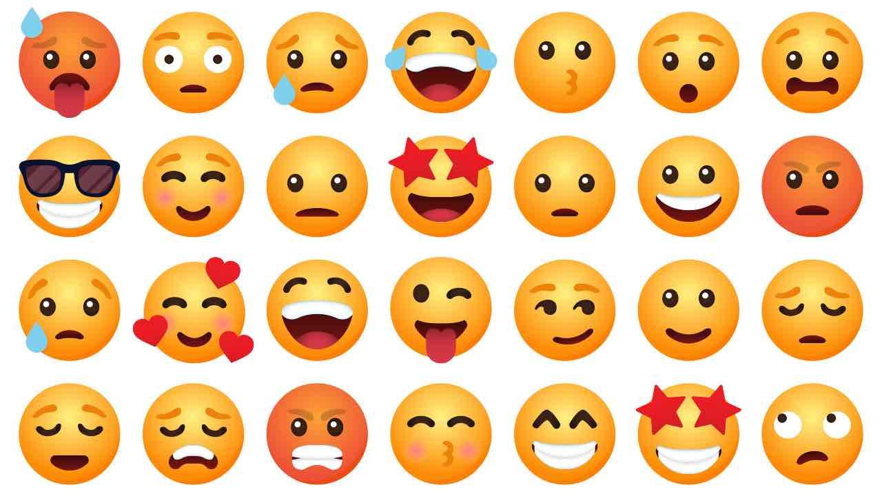 emoji più utilizzate