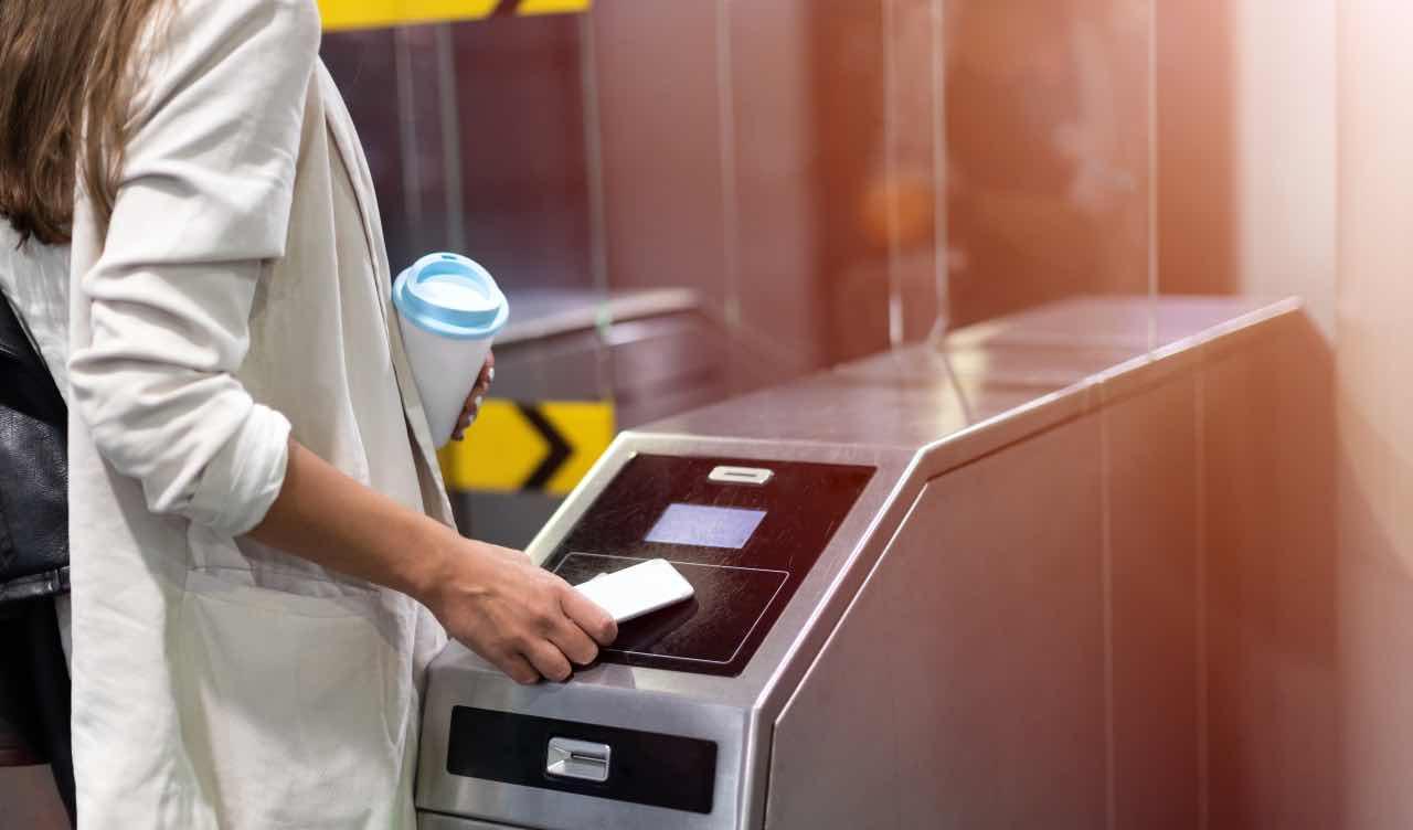 metro biglietto credito