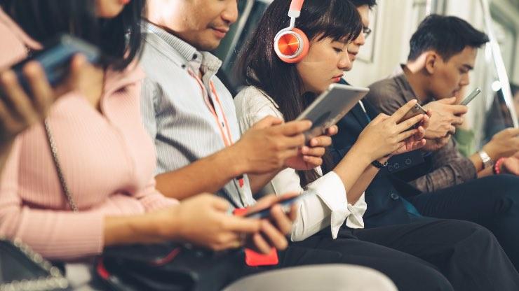 smartphone contagioso