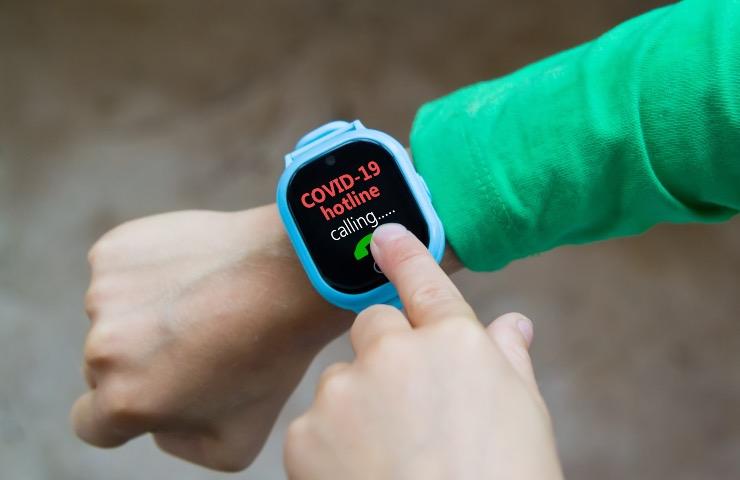 covid smartwatch