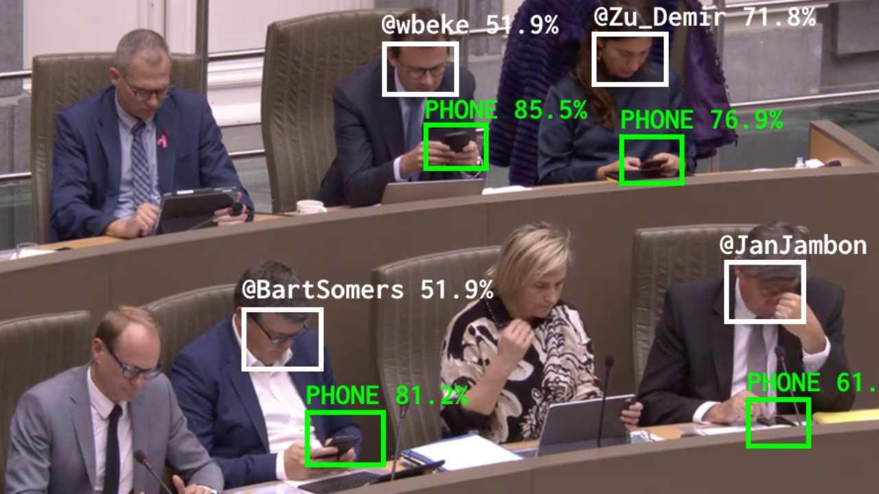 Politici smartphone
