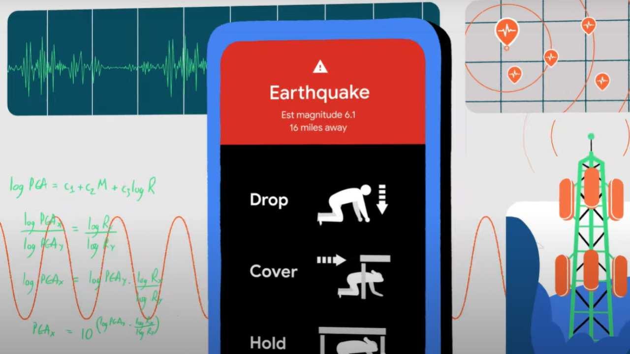 Google Terremoto
