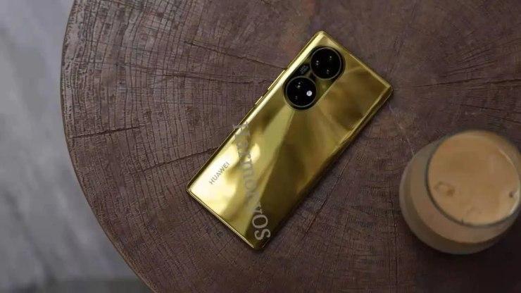 Huawei P50 Pro Oro