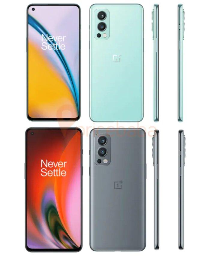 OnePlus Nord 2 Colorazioni
