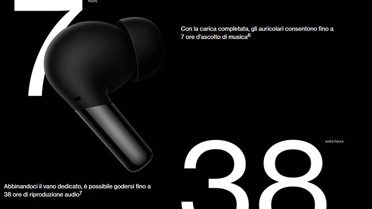 OnePlus Buds Pro caratteristiche prezzo