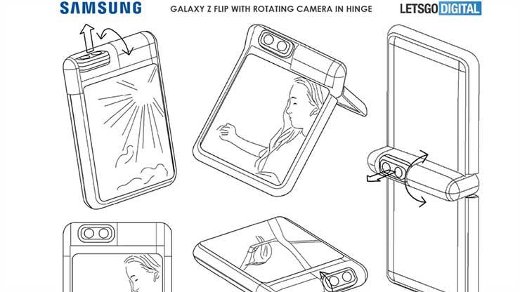 Galaxy Z Flip 4 brevetto