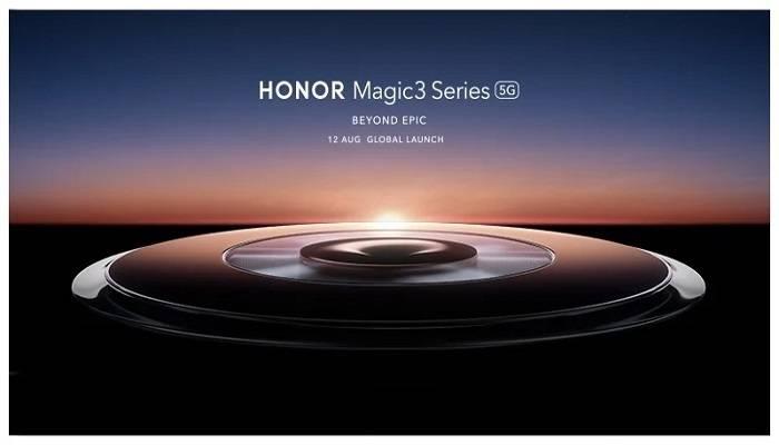 Honor Magic 3, il 12 agosto la presentazione (Honor Magic)