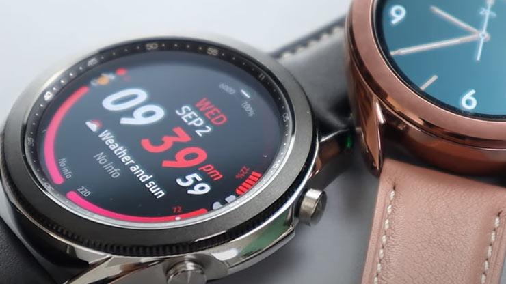Galaxy Watch 4 processore Apple Watch