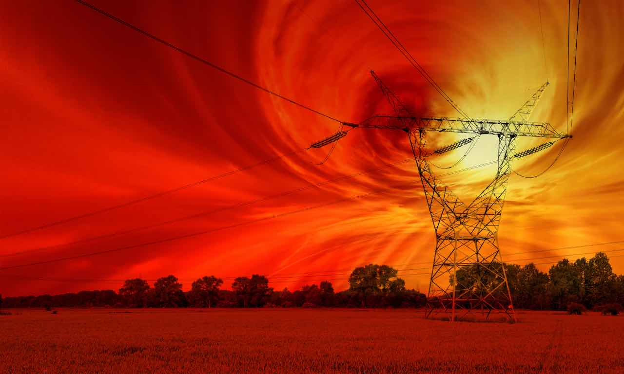 tempesta solare internet