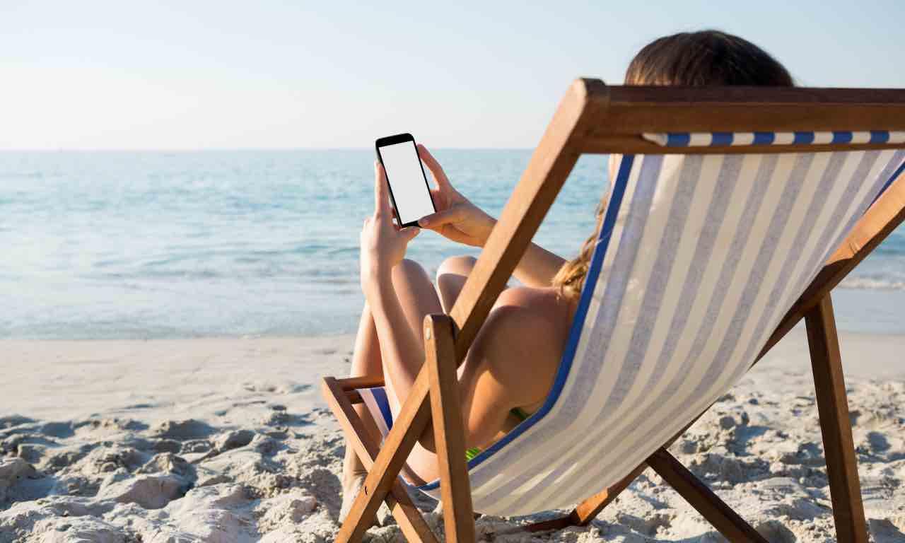 vacanze senza smartphone