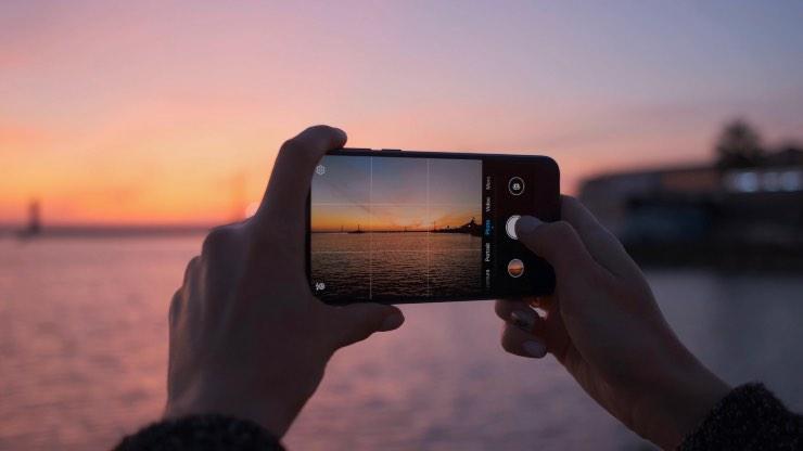 foto tramonti smartphone