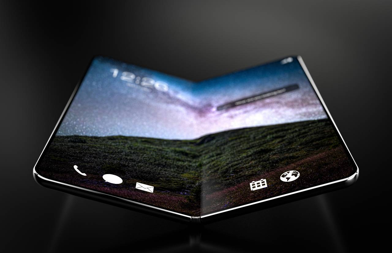 Smartphone pieghevole (Adobe Stock)