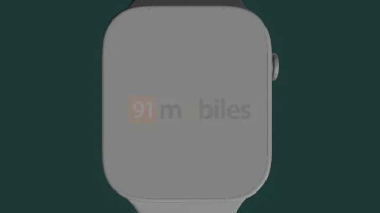 Apple Watch Series 7 come sarà design