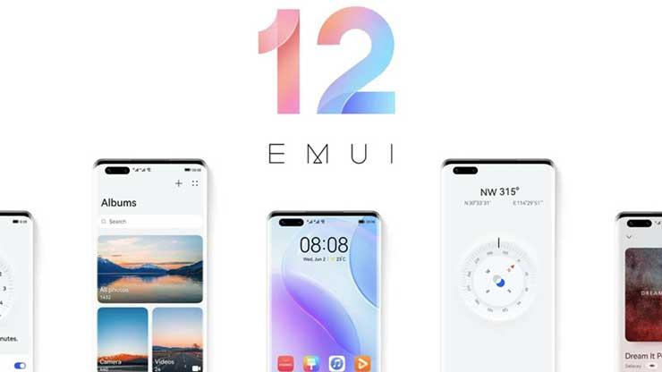 EMUI 12 smartphone Huawei Android