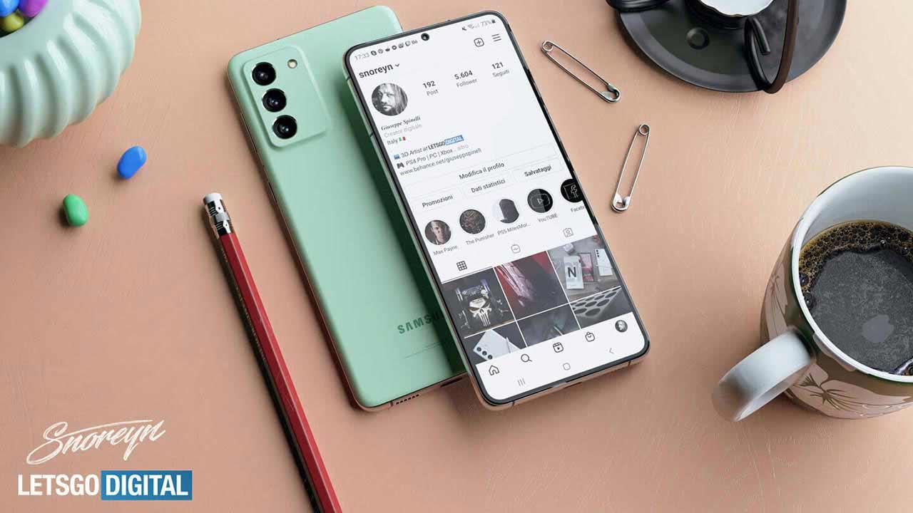 Nuovo smartphone Samsung top di gamma Galaxy S21 FE