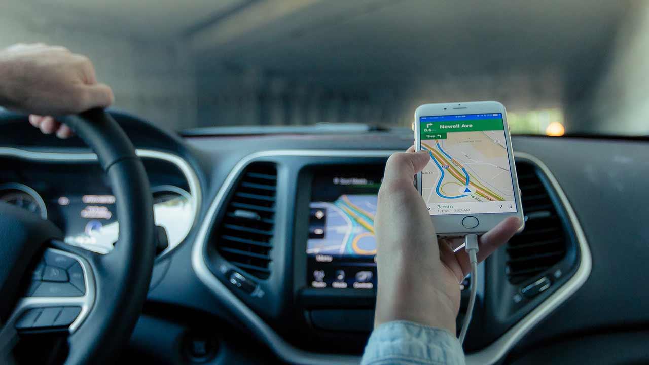 GPS strade campagna