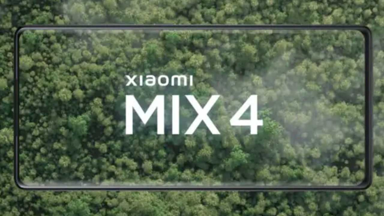 Mi MIX 4 teaser uscita