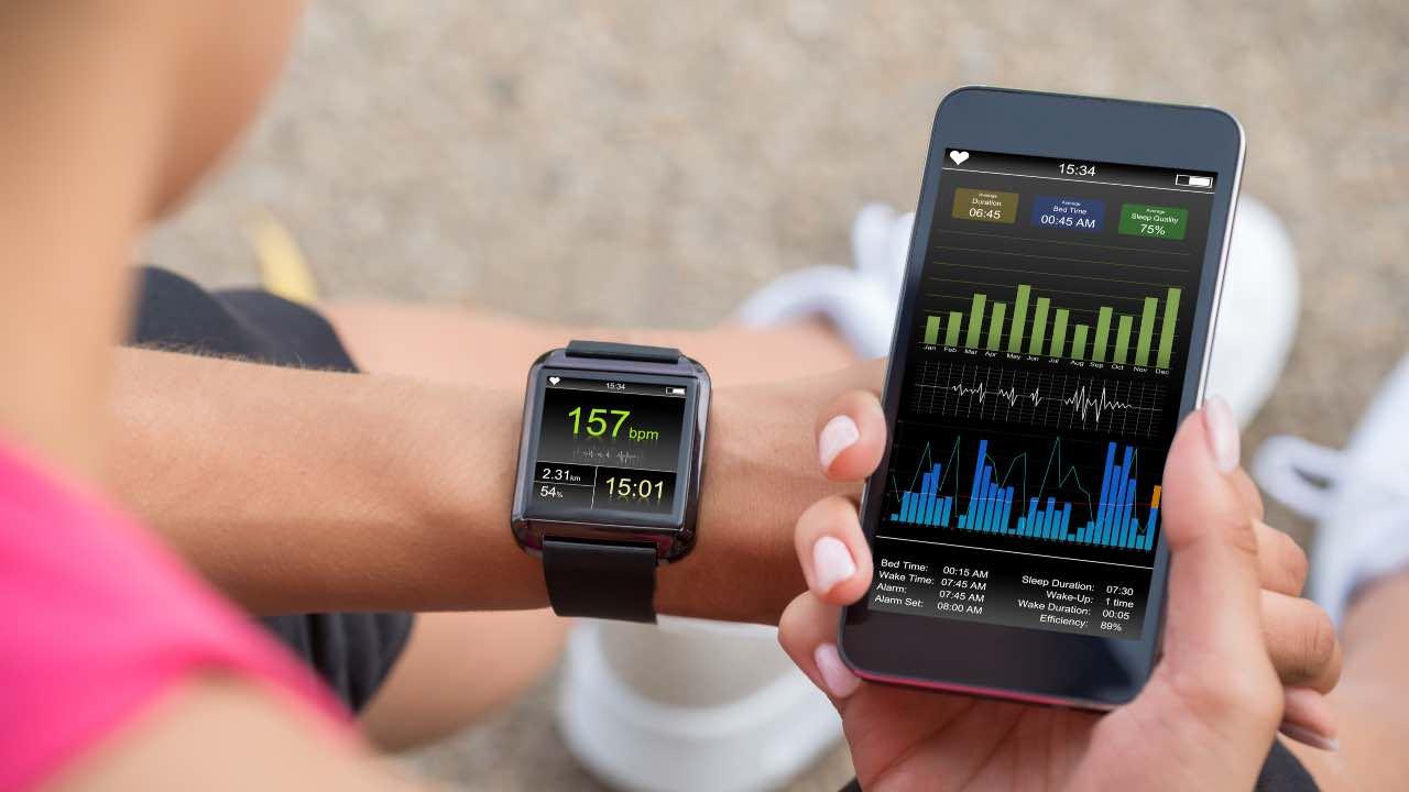 dati fitness tracker