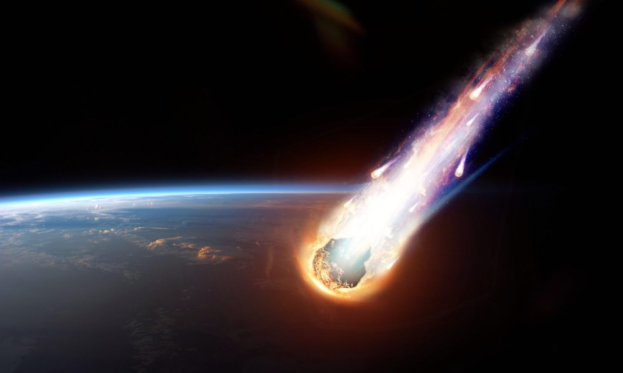 nasa meteorite navicella