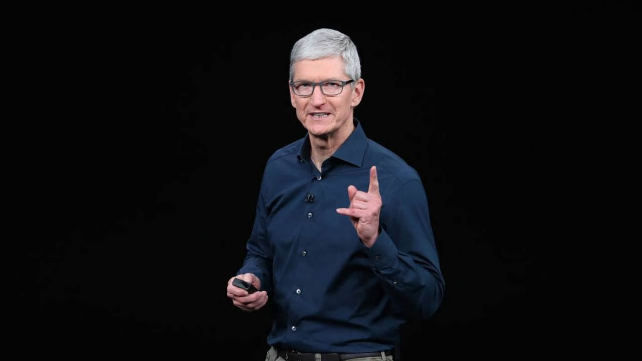 Tim Cook email spia