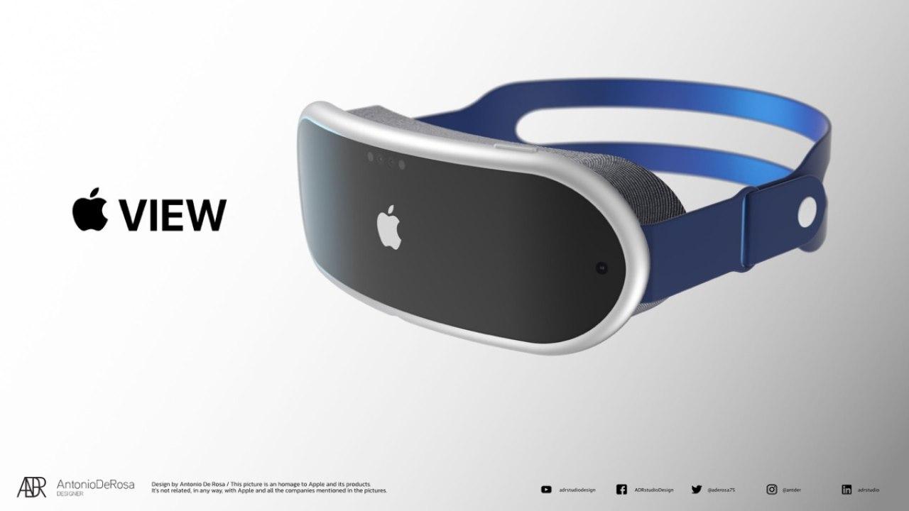 Apple View Visore AR VR