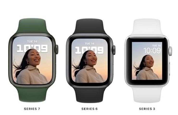 La serie 7 a confronto con i modelli passati (apple.com)