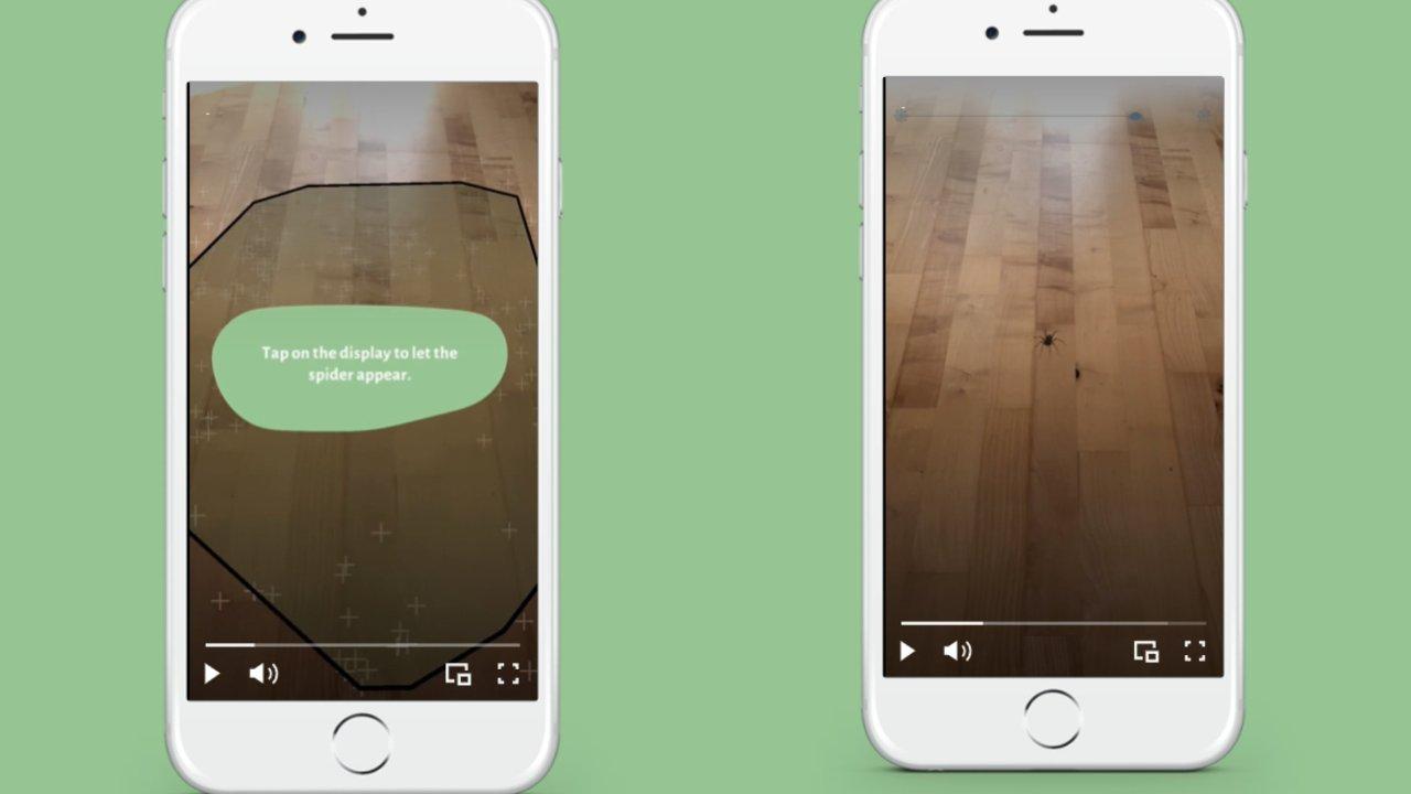 Phobys app aracnofobia